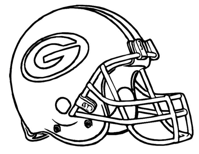 Football Helmet Green Bay.
