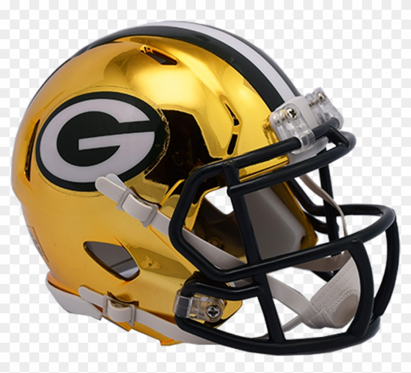 Green Bay Packers Revolution Speed Authentic Helmet.