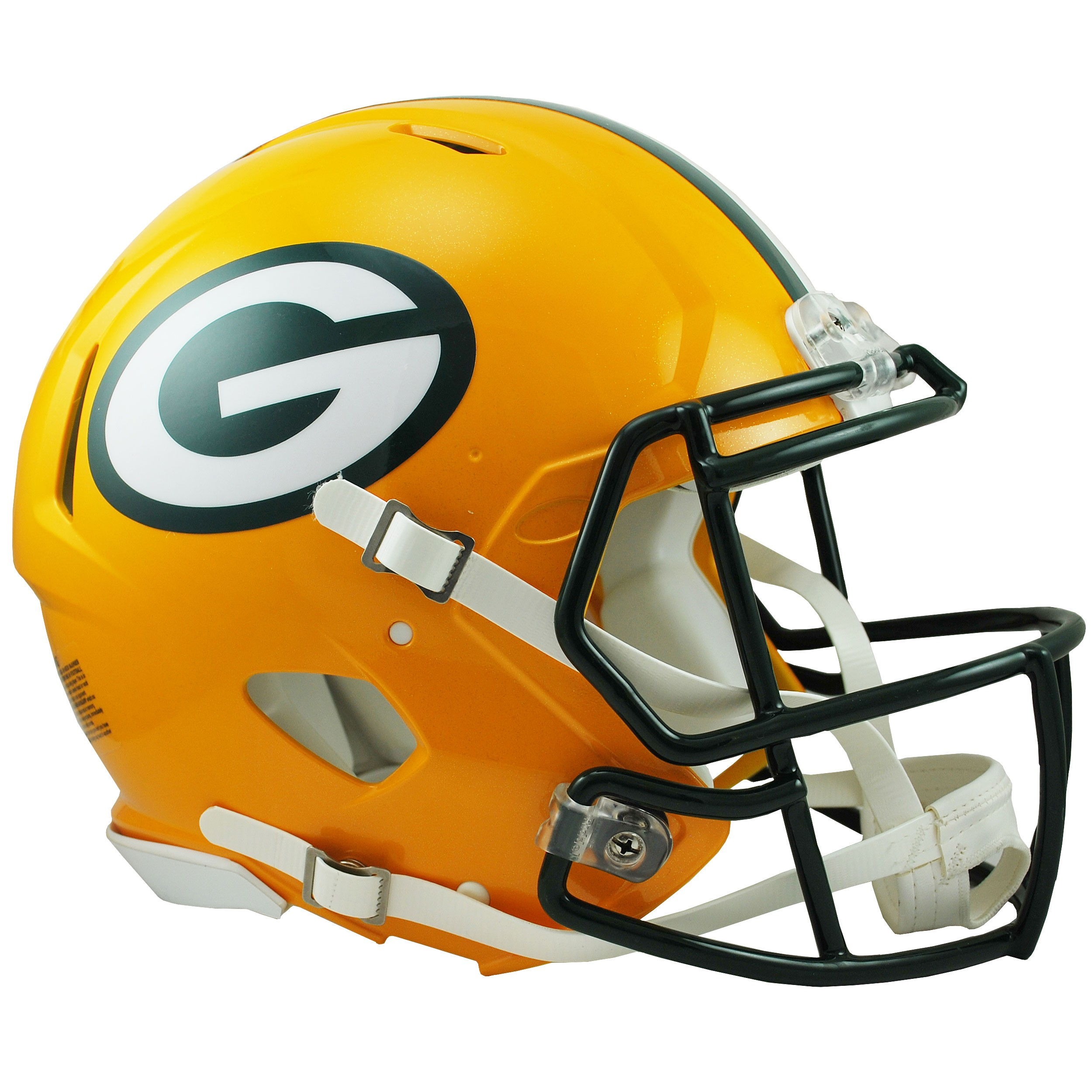 Green Bay Packers Speed Authentic Helmet.