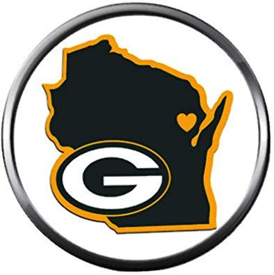Amazon.com: NFL Green Bay Wisconsin Packers Logo Football.