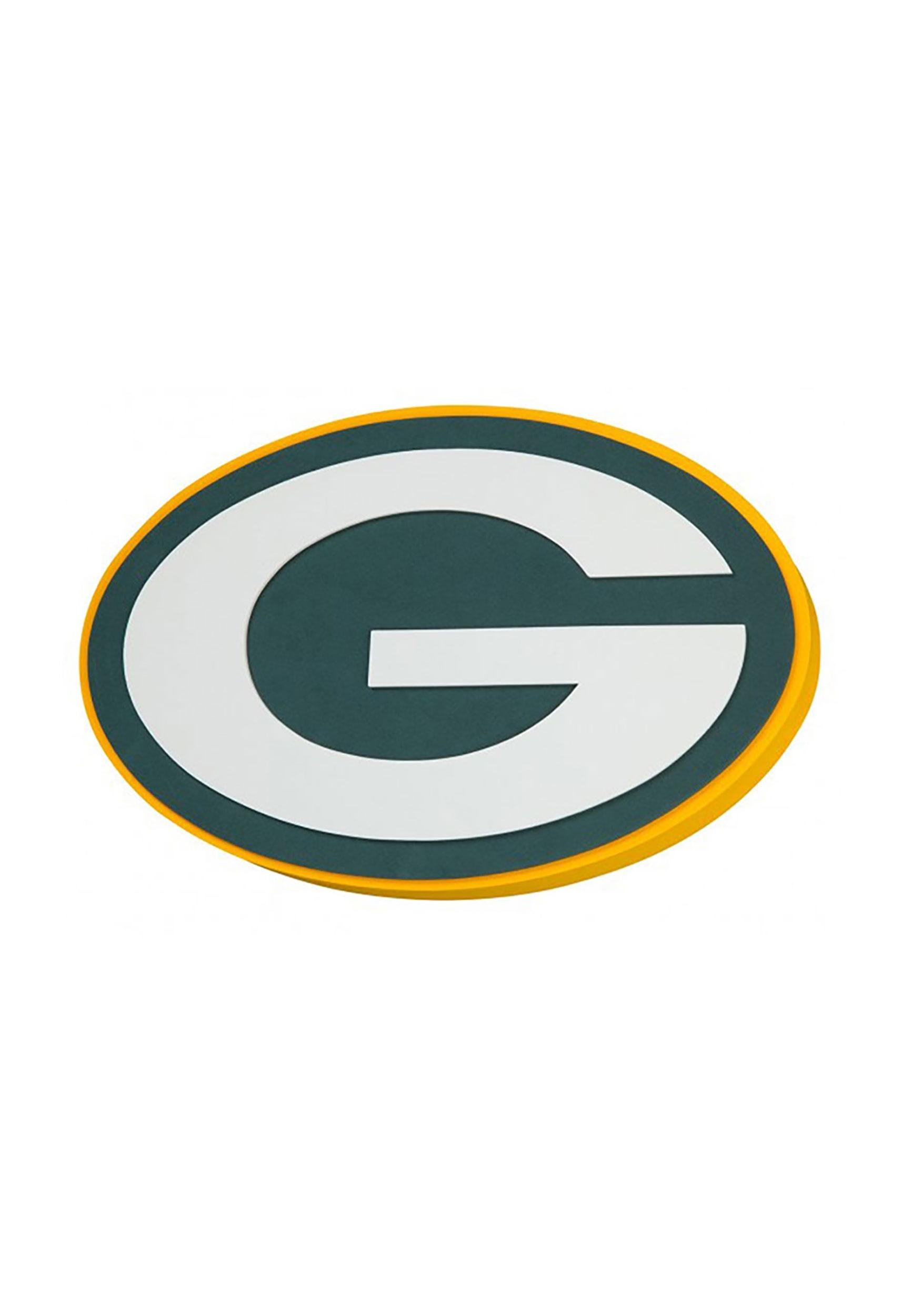 NFL Green Bay Packers Logo Foam Sign.