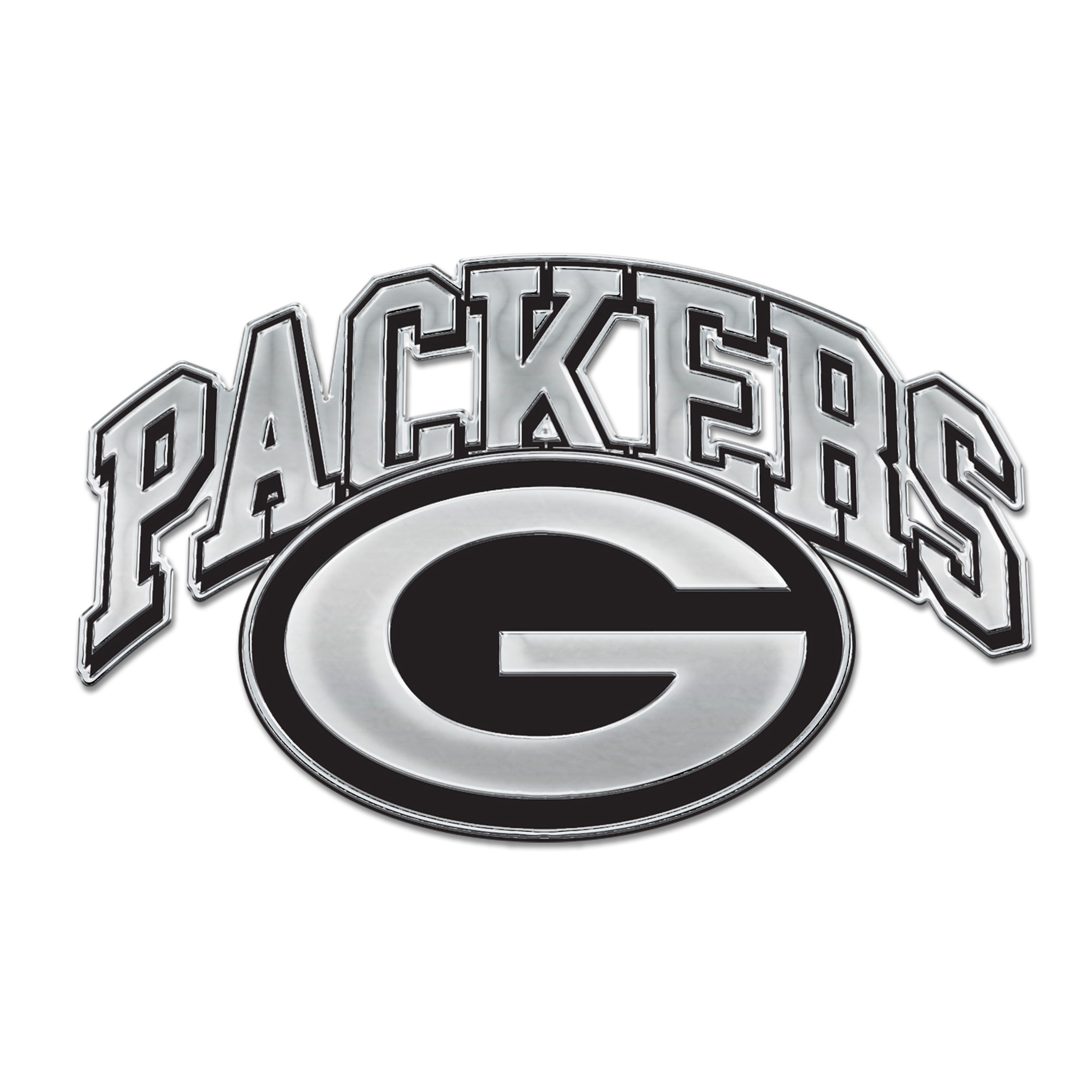 Green Bay Packers Chrome G Logo Auto Emblem at the Packers.