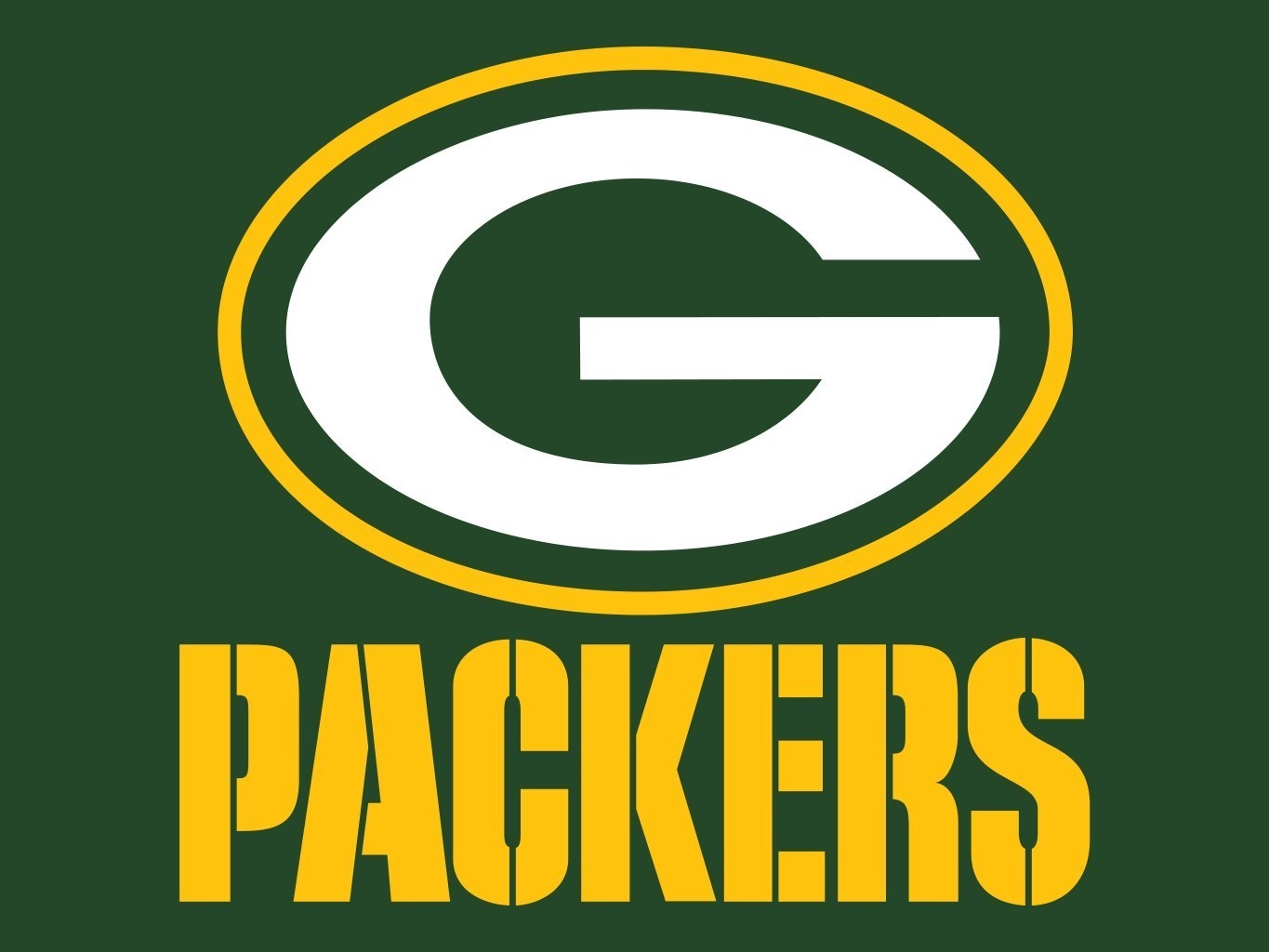Green Bay Packer Logo Clip Art.