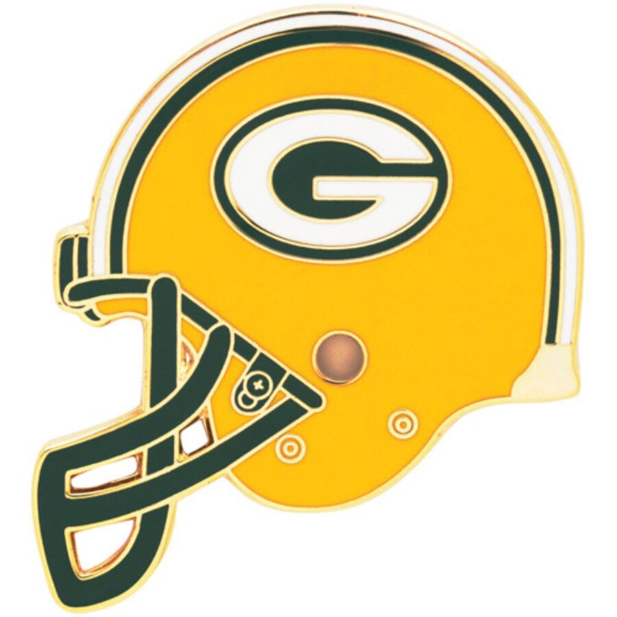Green Bay Packers WinCraft Helmet Logo Pin.