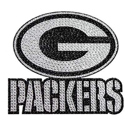 Amazon.com : Green Bay Packers XL Logo Black & White Auto.