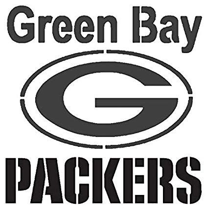 Amazon.com: Various SZS Green Bay Packers Logo Stencil.