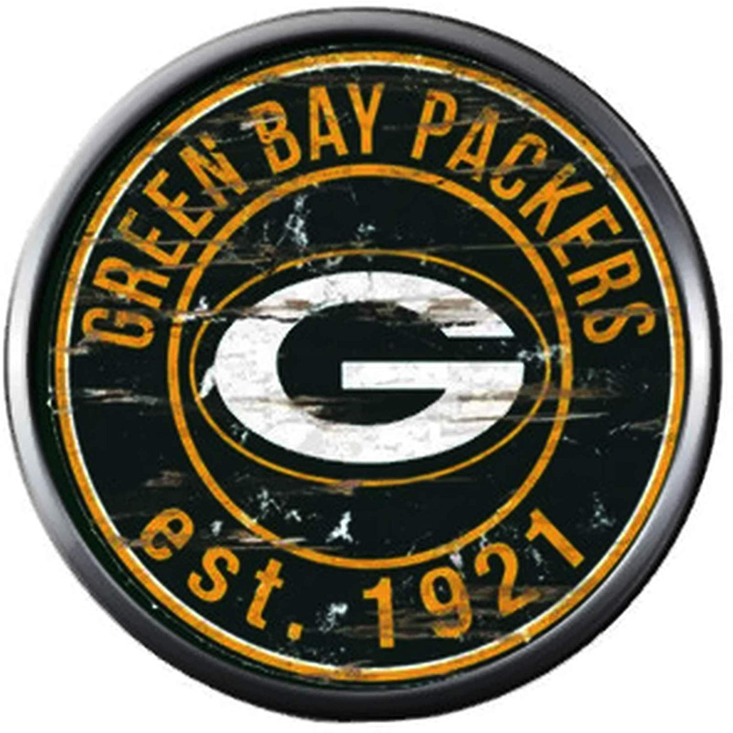 Amazon.com: NFL Green Bay Packers Antique Logo Football Fan.