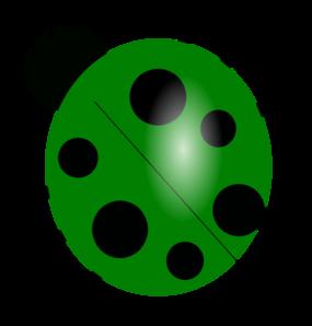 Bug green clipart.