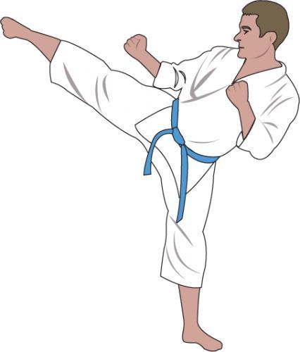 Showing post & media for Cartoon karate green belt.