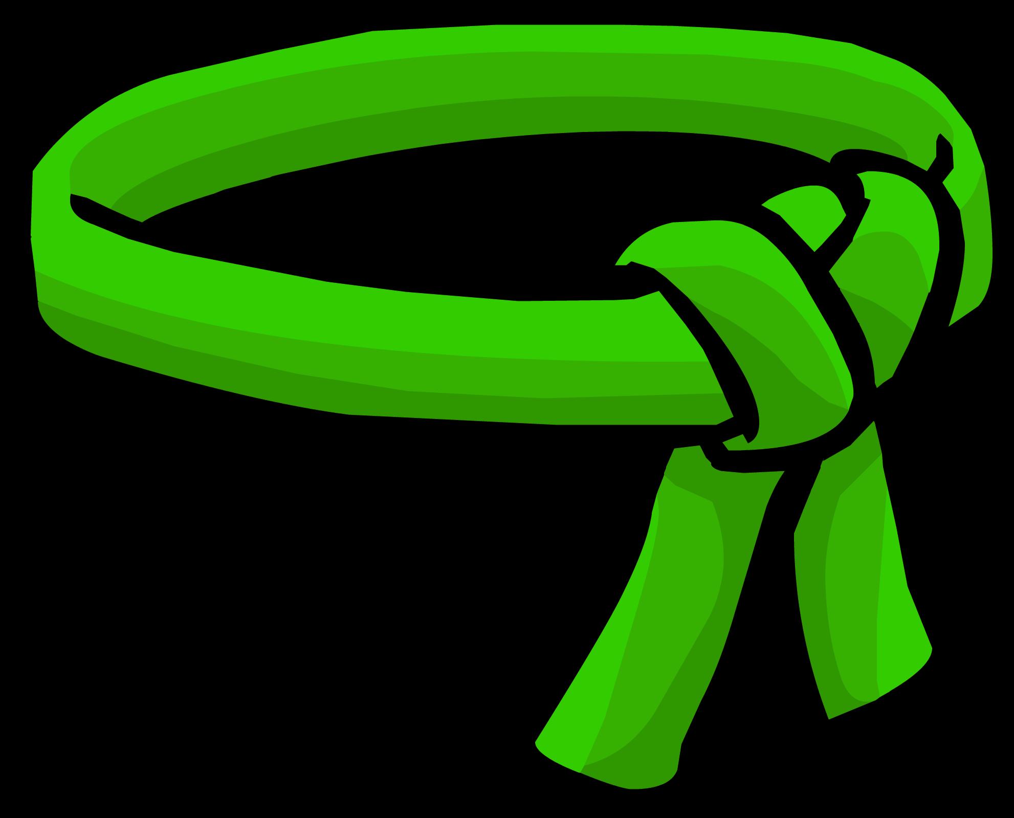 Green Ninja Belt.