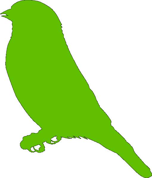 Lighter Green Bird Clip Art at Clker.com.