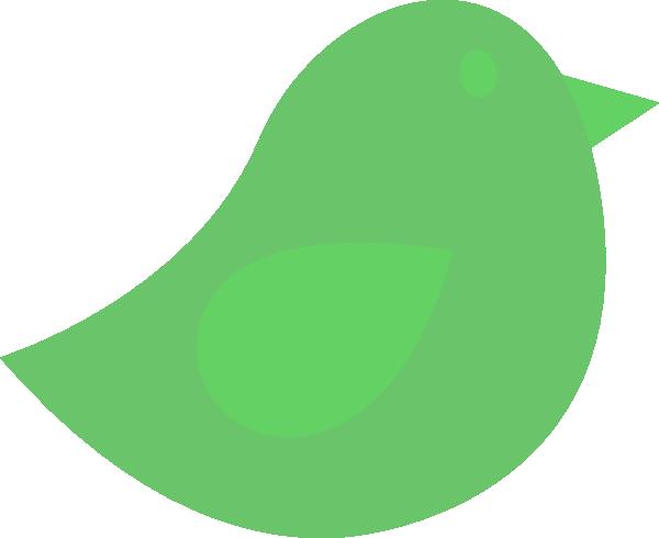 Green Bird Clip Art at Clker.com.