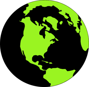 Clipart green black.