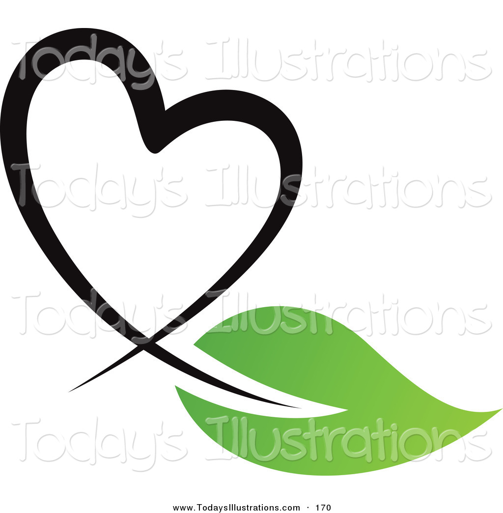 Clipart Heart Black And White.