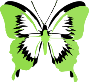 Black butterfly clipart images.