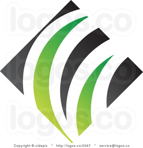 Green Diamond Clip Art.