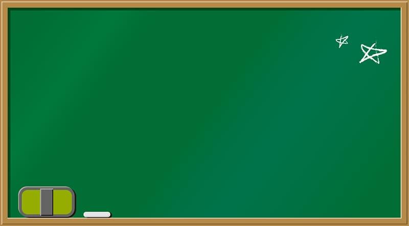 Rectangular green board , Blackboard Green Graphic design.