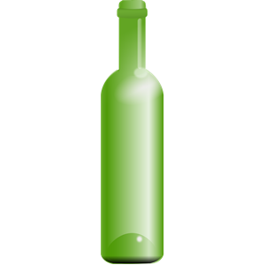 empty green bottle clipart, cliparts of empty green bottle free.