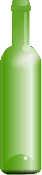 Empty Green Bottle clip art Free Vector / 4Vector.