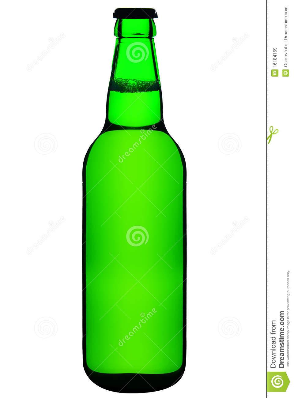 Green Beer Bottle Clipart Closed Green Beer Bottle #GSnJ1w.