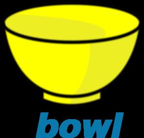 Empty green bowl clipart.