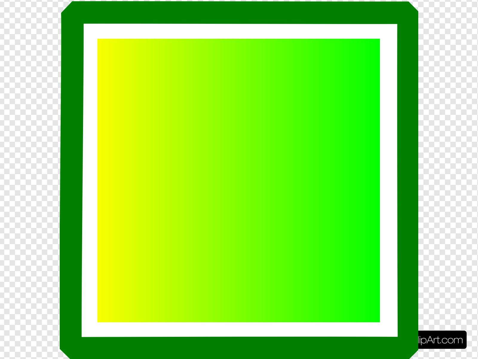 Green Box Clip art, Icon and SVG.