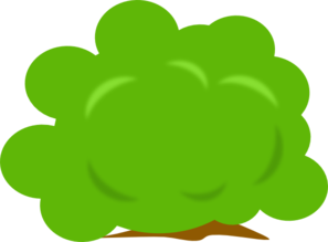 Bush Clip Art at Clker.com.