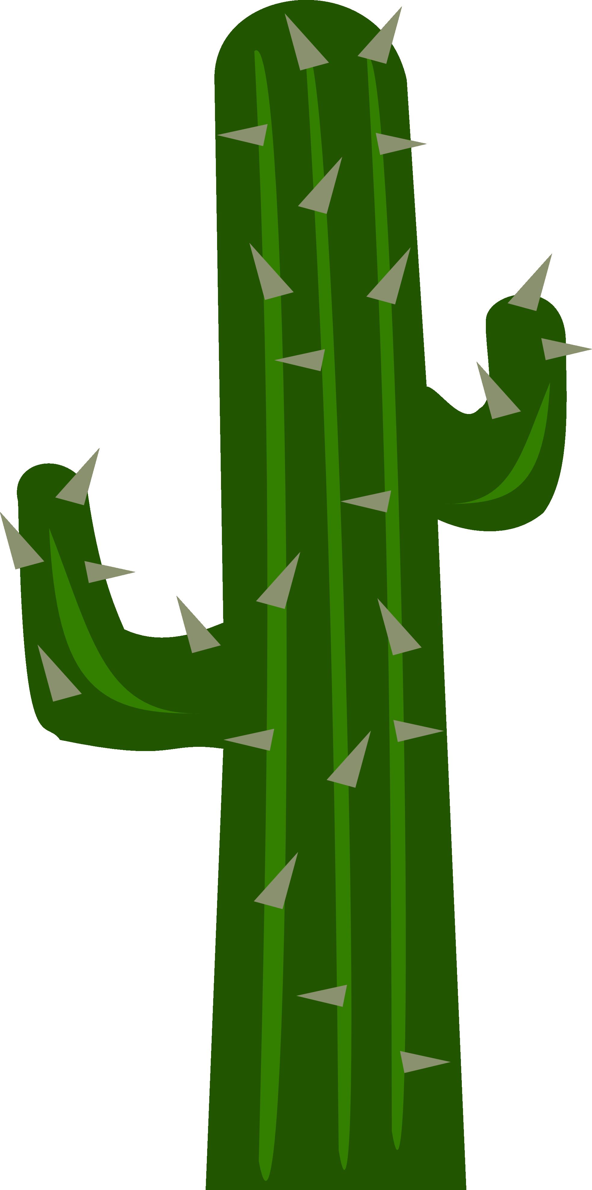 Cartoon cactus clip art.