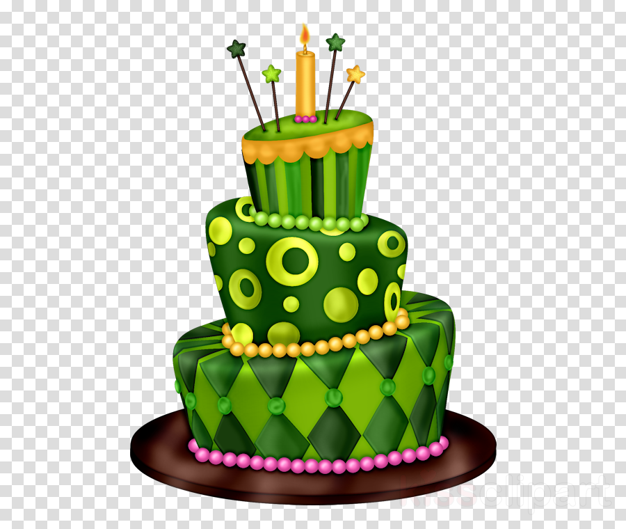 Birthday cake clipart.
