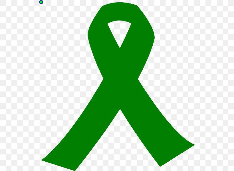 Awareness Ribbon Green Ribbon Liver Cancer Clip Art, PNG.