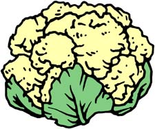 Clipart Cauliflower.