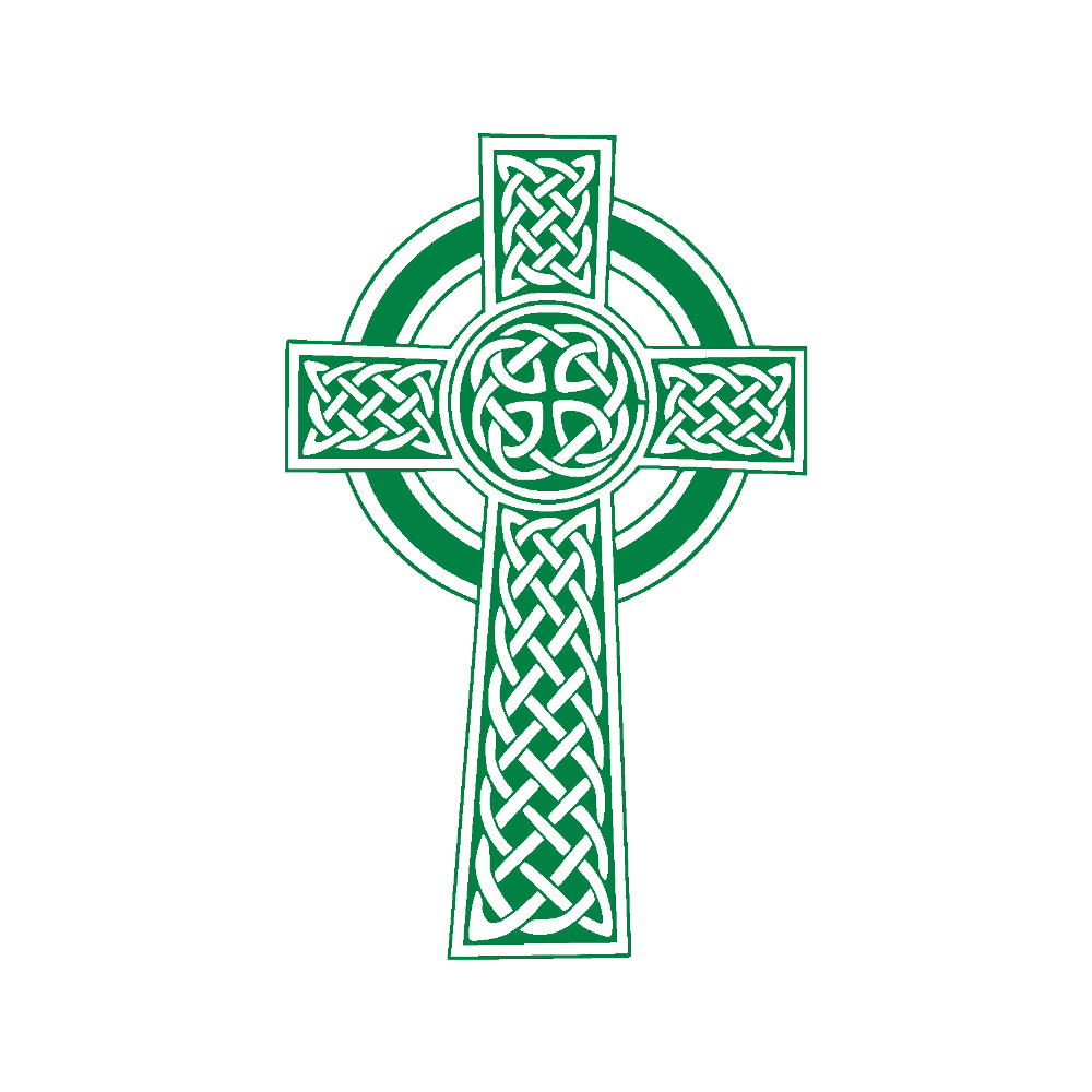 Celtic Cross Prayer Flag.