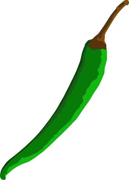 Green Chilli Clip Art at Clker.com.