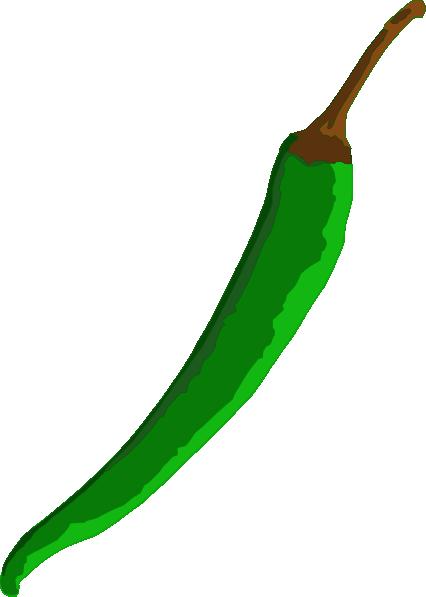 Green Chilli Clip Art at Clker.com.