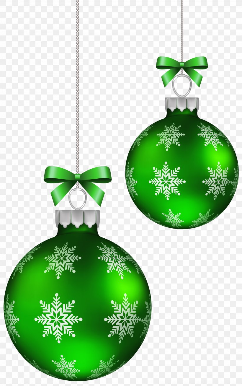 Green Christmas Balls Decoration Clipart Image, PNG.