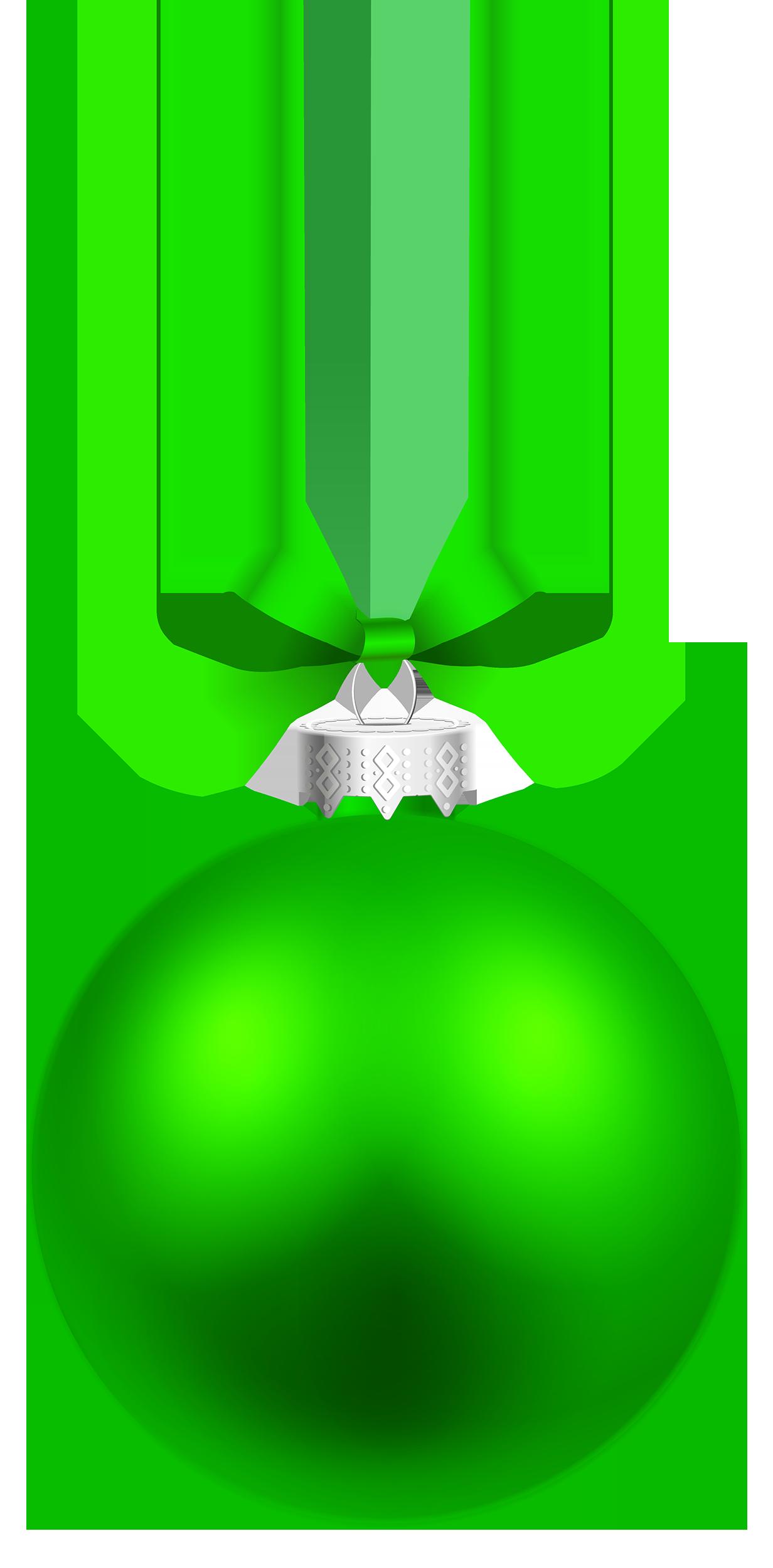 Green Ornament Clipart.