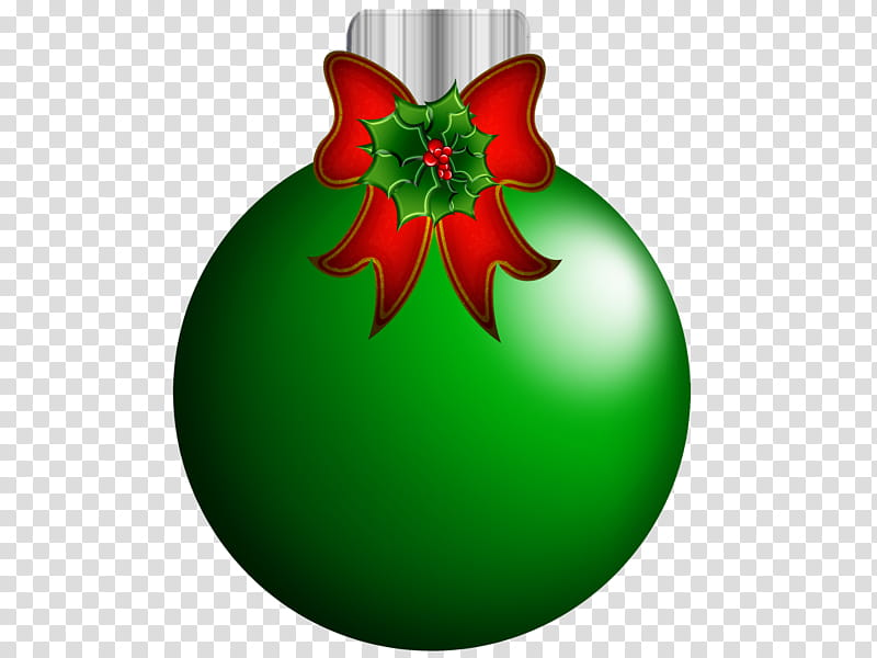 Red and green ornaments , green Christmas bauble decor.