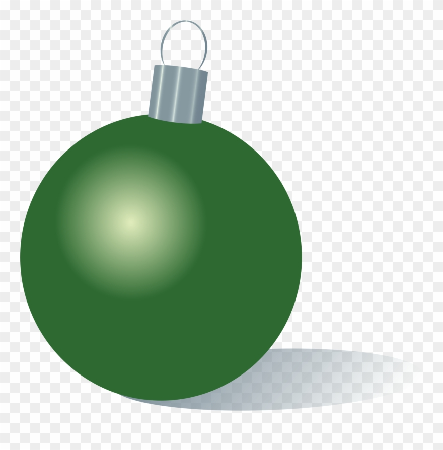 Image Transparent Stock Green Christmas Ornaments Clipart.