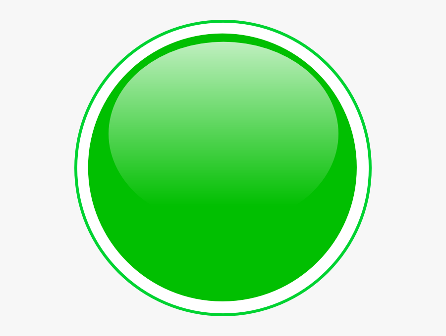 Glossy Green Icon Button Clip Art.