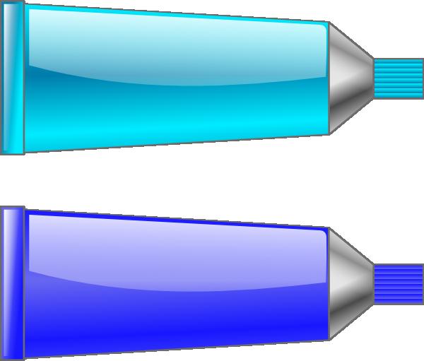 Color Tube Blue Cyan Clip Art at Clker.com.