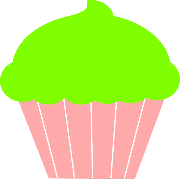 Cupcake Clip Art at Clker.com.