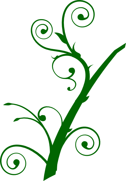 Curly Leaves Clip Art at Clker.com.