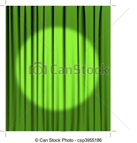 Green curtain Vector Clipart Royalty Free. 1,431 Green curtain.