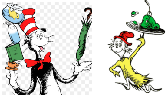 Cat in the Hat,' 'Green Eggs and Ham' among favorites.