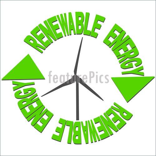 Renewable Energy Clipart.