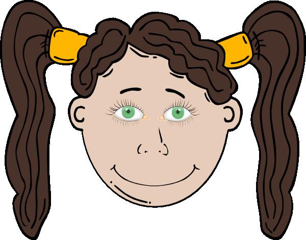 Girl Green Eyes Clip Art at Clker.com.