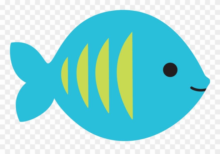Blue And Green Fish Clipart (#3030060).