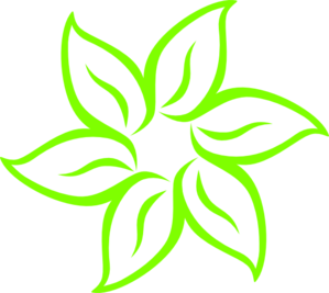 Lime Green Flower Clip Art at Clker.com.