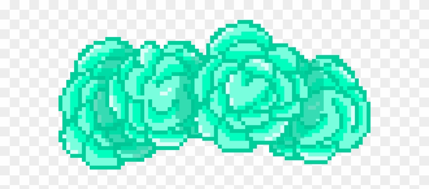 Green Flower Crown Png.