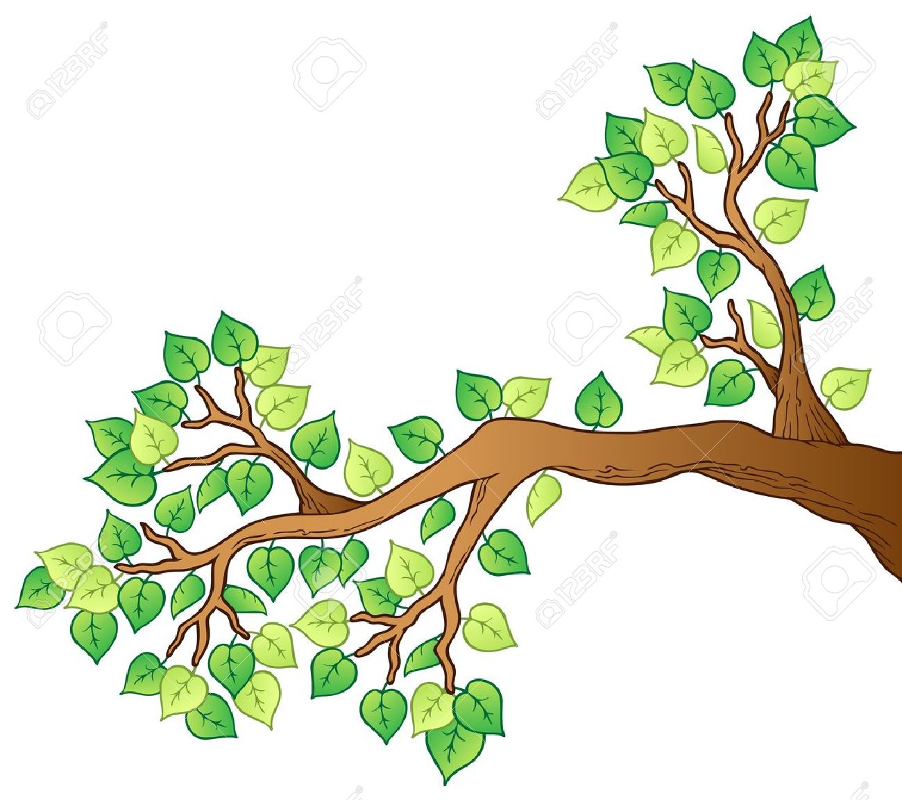 Showing post & media for Cartoon tree branch clip art.